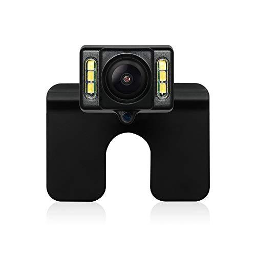 AUTO-VOX CAM1 Auto Rückfahrkamera FHD mit IP68 Wasserfestigkeit, Hochhelligkeit Bildsensor, Nachtsicht mit 6 LEDs für die meisten Automodelle inklusiv Truck&RV …
