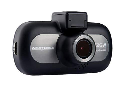 Nextbase 412GW – Full Quad HD 1440p Dashcam Auto-Kamera mit GPS, DVR, WDR, WiFi & erweiterter Nachtsicht – Frontkamera - 140 ° Weitwinkel (Schwarz)