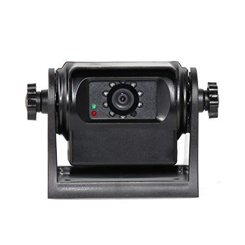 RED WOLF Auto Rückfahrkamera WiFi Magnetische drahtlos Funk Back Up Autokamera Hinte/Vorne Sicht IP68 Wasserdicht Nachtsicht Akku APP Android iOS für LKW Lastwagen Motorräder Trailer