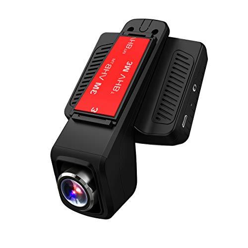 TOGUARD Auto Kamera GPS,WiFi Dash Cam Full HD 1080P,170° Weitwinkelobjektiv,2.45' LCD WLAN Unauffällige Fahrzeug DVR Rekorder, G-Sensor, Loop Aufnahme, Parkmonitor mit Micro SD-Karte 32 GB
