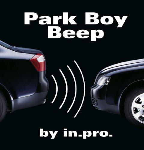 in.pro 10561 Einparkhilfe Park Boy Beep, 4 Sensoren