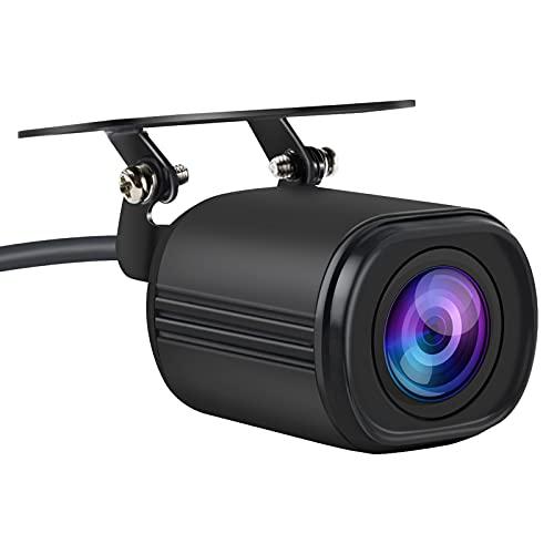 AWESAFE Rückfahrkamera für Autoradio HD Nachtsicht 140 Grad Weitwinkel IP68 Wasserdicht Kamera