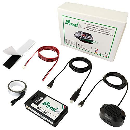 Elektromagnetische Einparkhilfe Unsichtbar EPS-DUAL 4.0 ohne die Stoßstange zu bohren für hinten. Universal und originell Proxel Version 2021