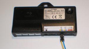 Waeco Dometic MWE 820 Lautsprecheranschluss in Position leise